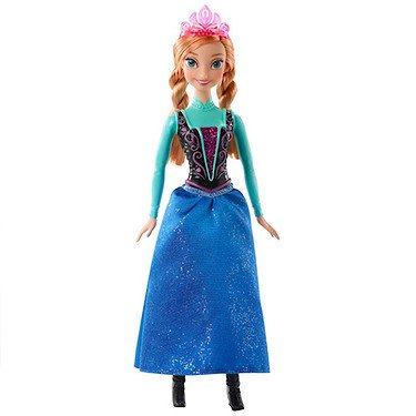 Disney Frozen Sparkle Princess Anna Doll (Discontinued by manufacturer) (Princess Anna From Frozen)