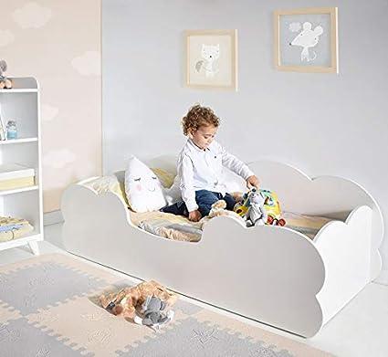 Letto Montessori Nuvola 70x140 Cm Amazon It Casa E Cucina