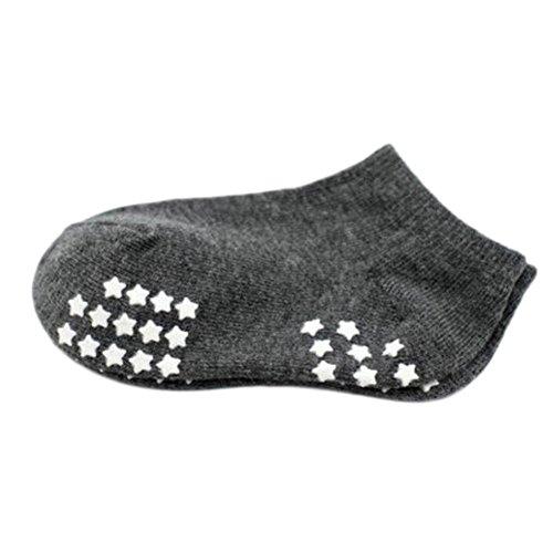 8 pares de calcetines antideslizantes para bebés recién nacidos Calcetines  de bebé calcetines 9-12 3f8cb294191