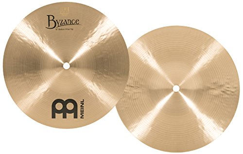 Meinl Cymbals B10MH Byzance 10-Inch Traditional Mini Hi-Hat Cymbal Pair (Meinl Hi Hat Cymbals)