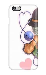 Hot Snap-on Video Games Touhou Ribbons Shortopen Mouth Hearts Graykomeiji Koishi Hats White Hard Cover Case/ Protective Case For Iphone 6 Plus WANGJING JINDA