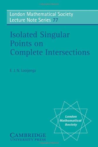 Isolated Singular Points on Complete Intersections