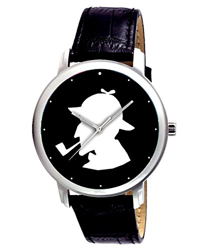 sherlock-holmes-silhouette-detectives-large-format-collectible-wrist-watch