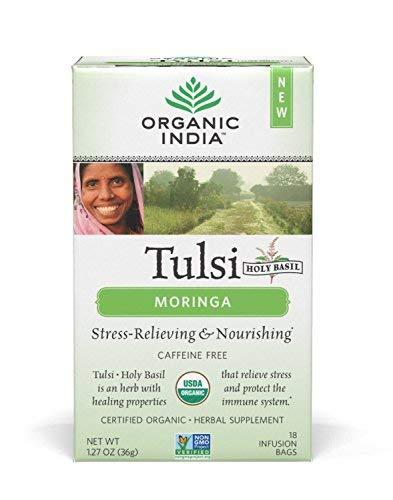 ORGANIC INDIA Tulsi Moringa Pack product image