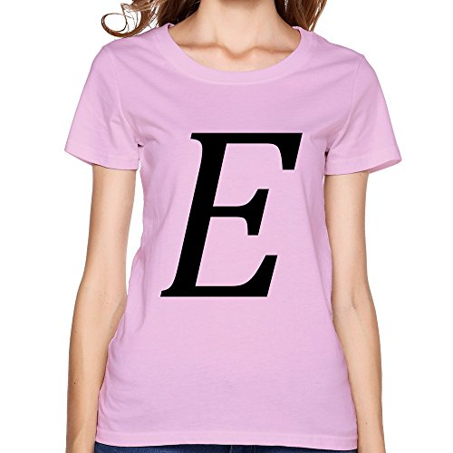 SNOWANG Women's Epsilon E T-shirt XL - Phi Sigma Glass