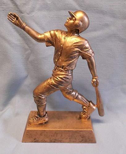 (Team lot of 9 Gold Male Baseball Statue Trophy Resin Award PDU 50703 G )