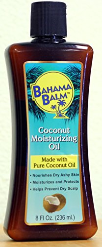 Bahama Balm Coconut Moisturizing Oil (8 fl oz., 236 ml.)