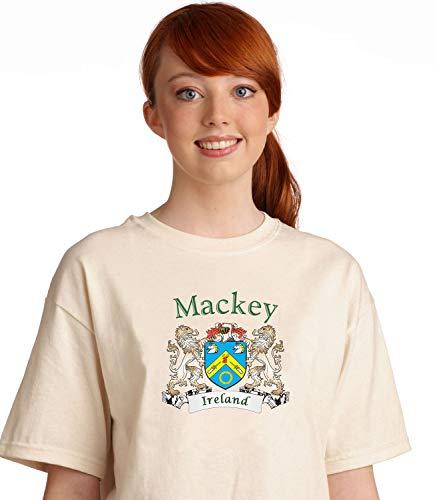 Mackey Irish coat of arms tee shirt in Natural