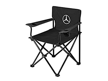 Mercedes-Benz silla plegable negro: Amazon.es: Coche y moto