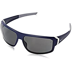 Tag Heuer Racer2 9223 106 Rectangular Sunglasses, Blue & Grey, 70 mm