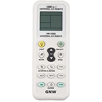 GNW Universal A/C Air Conditioner Conditioning Remote Control Controller  1000 in 1 for MITSUBISHI