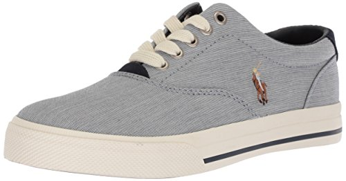 Polo Ralph Lauren Men's Vaughn Sneaker, Aviator Navy, 10.5 D US