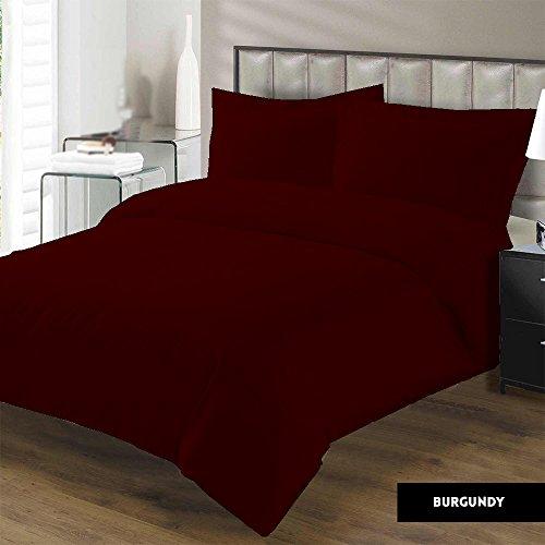Best Deals! Duvet Cover with Zipper Closure Premium Range Egyptian Cotton 600 Thread Count By Kotton...