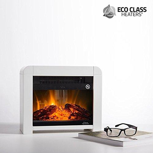 CEXPRESS - Estufa Eléctrica de Mica Eco Class Heaters EF 1200W - Blanco: Amazon.es: Belleza