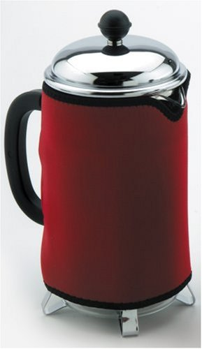 (Red Cafetiere / Coffee Press Cozy / Coat - 8)