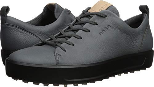 ECCO Men's Soft Hydromax Golf Shoe, Dark Shadow Nubuck, 9 M US
