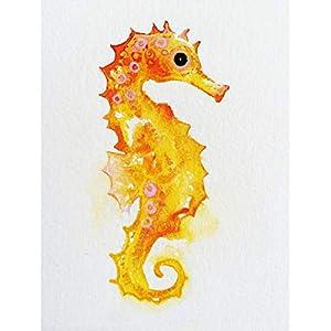 41mJDJqxQzL._SS300_ Seahorse Wall Art & Seahorse Wall Decor
