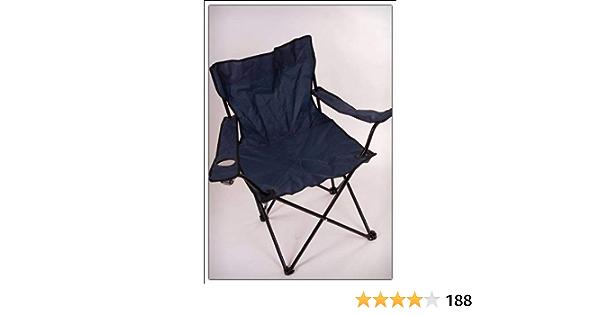 Silla plegable de camping Spetebo