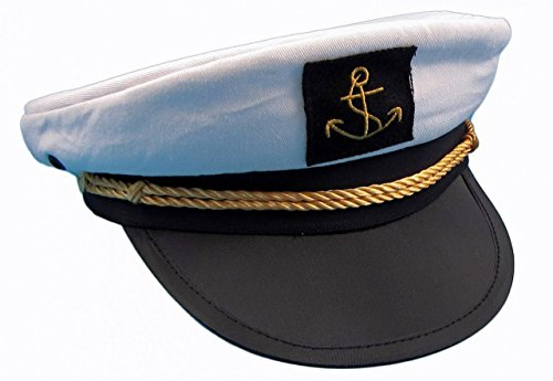 Kapitänsmütze von Modas Gr. 56