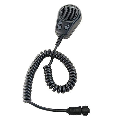 Icom Microphone w/plug, for M504/604, Black by Icom