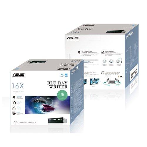 Asus 90DD0200-B20010 Internal Blu-Ray Writer (16x BD-R (SL), 12x BD-R (DL), 16x DVD+/-R), BDXL