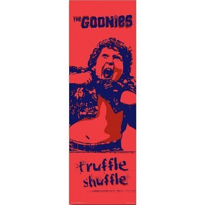 The Goonies Movie Chunk Truffle Shuffle Poster Print Print, by Discount