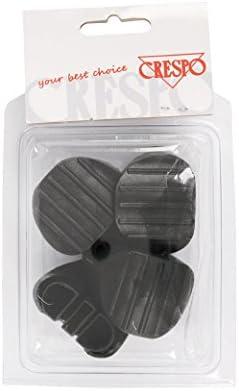 Negro Set de 4 Crespo 1162335/CR Silla pies al-237//80
