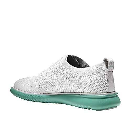 Cole Haan Heren 2.0 Zerogrand Stitchlite Oxford Damp Grijs-pool Groen Gebreid