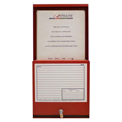 Space Age Electronics FDB, Fire Alarm Documents Box ()