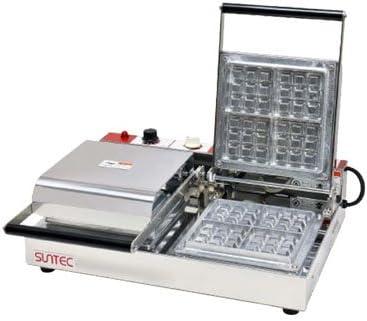 サンテック(SUNTEC) ベルジャン ワッフルベーカー 3/4 (2連式) W510×D445×H180mm SBW-200