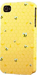 Honey Bees Pattern Dimensional Case Fits Apple iPhone 5c by supermalls