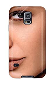 New Style Allisassidy Hard Case Cover For Galaxy S5- Angelina Jolie