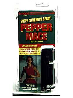 Mace Brand Pepper Mace Defense Spray- Jogger Model (Model Mace Jogger)
