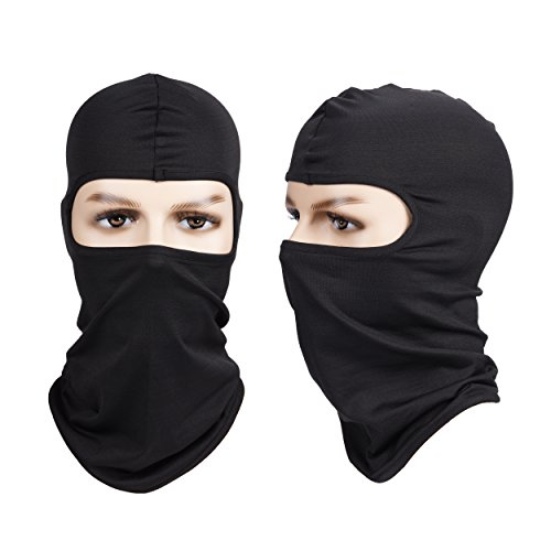 Nogis Windproof Balaclava Ski Face Mask Polyester Tactical Winter Face Mask Outdoor Sports Mask for Cycling,Motorcycle,Skiing & Snowboarding - Season When Cycling Is