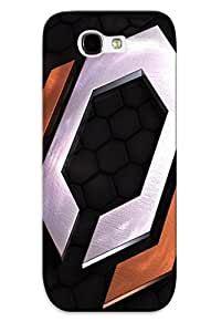 Durable Protector Case Cover With Mass Effect Logo Hot Design For Galaxy Note 2 (ideal Gift For Lovers)