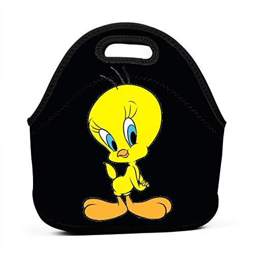 Art of Lunch Insulated Neoprene Lunch Bag for Women and Kids, Tweety Bird - Kids Tweety Bird