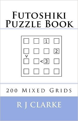 Futoshiki Puzzle Book: 200 Mixed Grids: Amazon co uk: R J