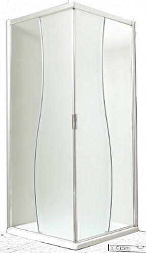 Mampara de ducha manolibera acceso ángulo coulissant- vidrio ...