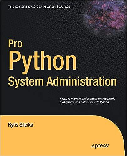 Pro Python System Administration: Rytis Sileika