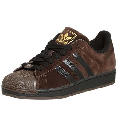 adidas Originals Men's Superstar 2 Sneaker,Mustang/Black/Brown,7.5 M