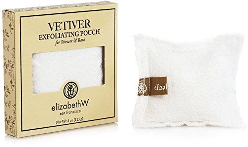 Elizabeth W Bath Pouch - Elizabeth W Vetiver Exfoliating Bath Salts Pouch