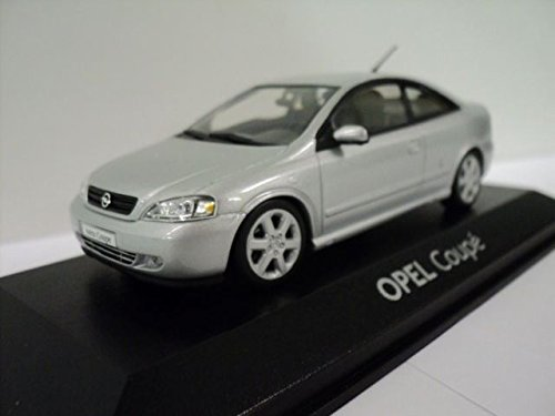 VAUXHALL Opel Astra G Coupe Silver 1:43 Diecast Model Car Made By Minichamps Opel