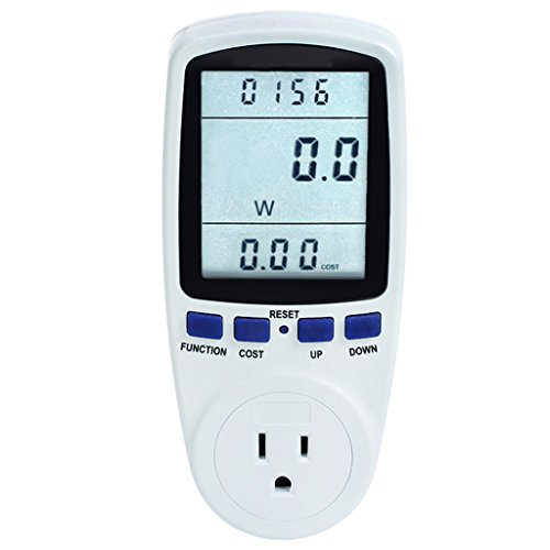 Power Meter Energy Voltage Amps Electricity Usage Monitor,Reduce Your Energy Costs