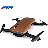 RTF Foldable RC Pocket Selfie Drone - STANDARD VERSION COFFEE