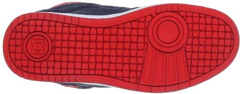 DC Shoes REBOUND HI SE D0320028 - Zapatillas de cuero para mujer Azul (Blau (Navy/Red))