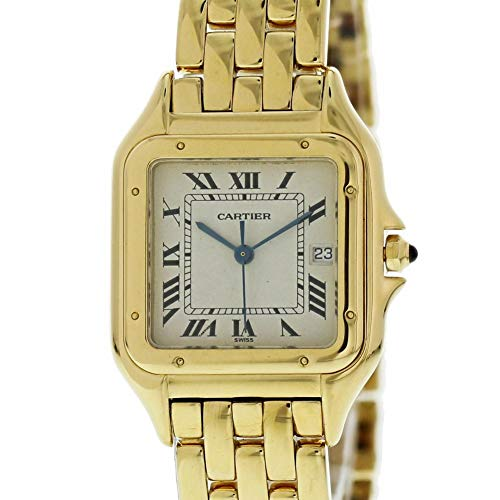 Cartier Panthere de Cartier Quartz Female Watch W25014B9 (Certified Pre-Owned)
