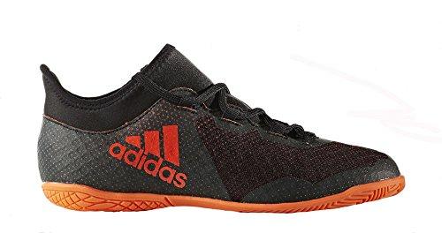 Fencing Shoes (adidas Boys' X Tango 17.3 in J Soccer Shoe, Black RED/Solar Orange, 5 Medium US Little Kid)