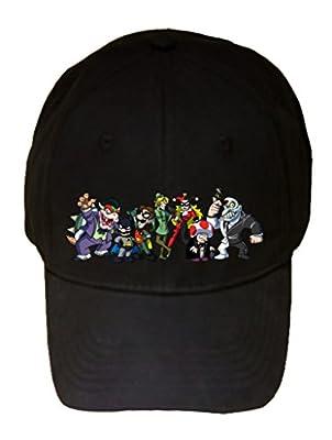 All Character Heroes & Villains Video Game & Bat Hero Parody - 100% Adjustable Hat