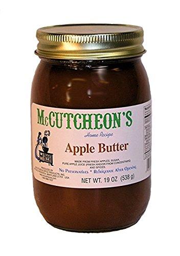(MCCUTCHEON Natural Apple Butter No Sugar, 19 OZ)