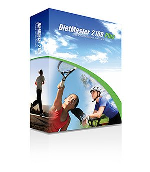 DietMaster 2100 Plus Nutrition Software - Performance Edition Diet Software, Awarded 2013 Best Diet Software - Top Ten Reviews